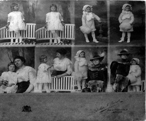 CDVs Were Made With Special Cameras 4 Lenses This Way The Photographer Could Take 8 Different Photos On 1 Large Negative Development And Printing